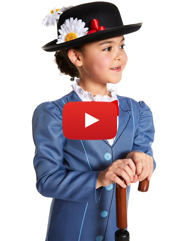 Mary Poppins - Kinderkostüm video