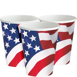 USA - Amerika Pappbecher 255ml