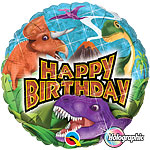 "Dinosaurier ""Happy Birthday"" Folienballon 46cm"