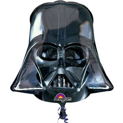 Star Wars - Darth Vader Helm Riesenfigur Folienballon 63,5cm