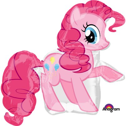 My Little Pony - Pinkie Pie Ballonfigur Folienballon 76cm