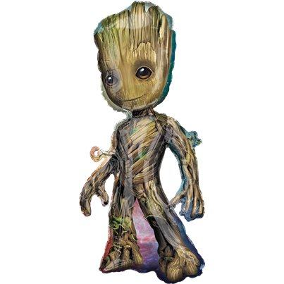 Guardians of the Galxy - Baby-Groot Folienballon 102cm