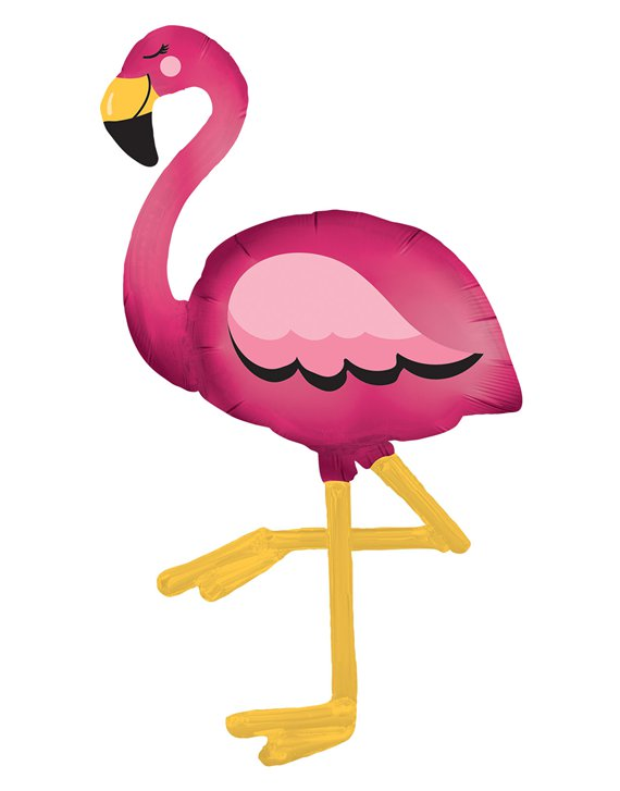 Flamingo Airwalker Folienballon 173cm