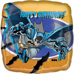 "Batman ""Happy Birthday"" Folienballon 46cm"