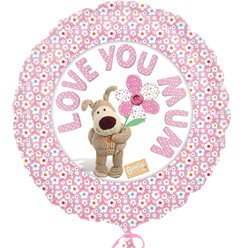 """Love You Mum"" Muttertag Folienballon 43cm"