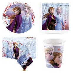 Disney Die Eiskönigin 2 - Party Deko Set - Für 8 Personen