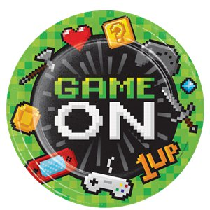Game On - Premium Party-Set - Für 8 Personen
