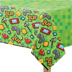Game On - Plastiktischdecke 1,37m x 2,5m