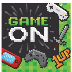 Game On - Papierservietten 33cm 2-lagig