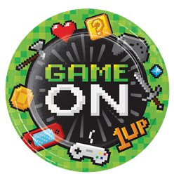 Game On - Pappteller 22cm