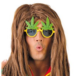 Marihuana Partybrille