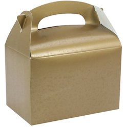 Goldene Party Boxen