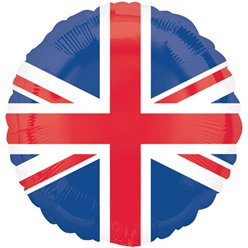 Union Jack Folienballon 46cm