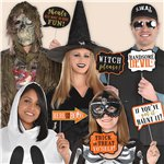 Halloween Photo Booth Foto Requisiten