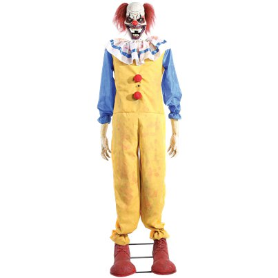 Animierter zuckender Clown 1,8m