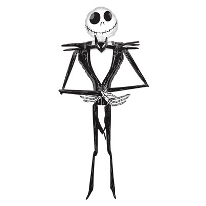 Jack Skellington Airwalker Folienballon 2,1m