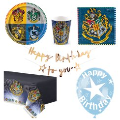 Harry Potter - Premium Party-Set - Für 8 Personen