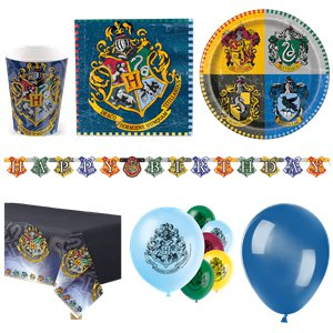 harry potter premium party set f r 16 personen. Black Bedroom Furniture Sets. Home Design Ideas