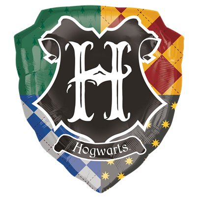Harry Potter - Hogwarts Wappen Folienballon 64cm x 69cm