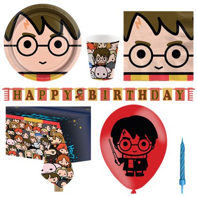 Harry Potter Comic - Premium Party Deko Set - Für 8 Personen