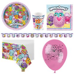 Hatchimals - Premium Party-Set - Für 8 Personen