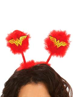 Wonder Woman - Haarreif mit Wackel-Antennen