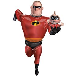 Mr. Incredible Airwalker Folienballon 1,7m