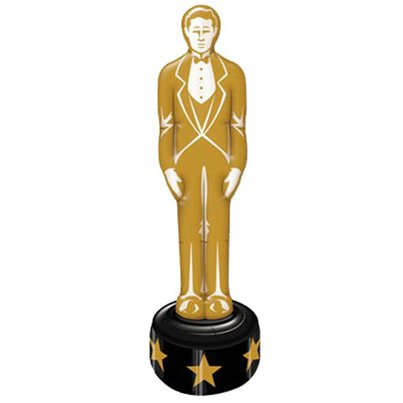 Hollywood aufblasbare goldene Statue 1,4m