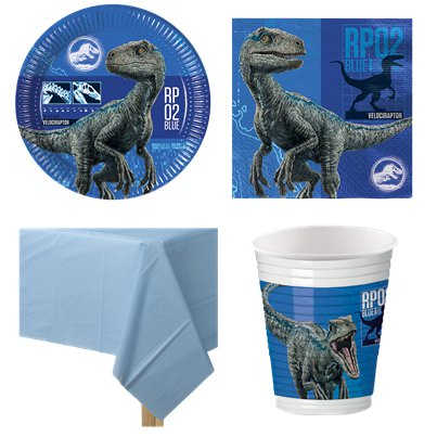 Jurassic World - Party-Set - Für 8 Personen