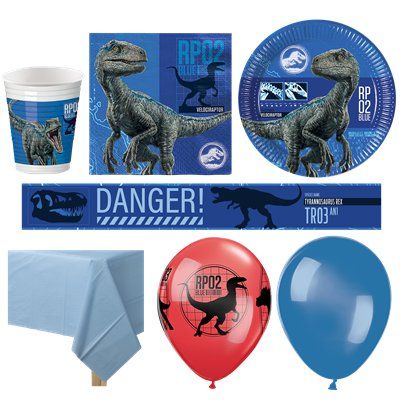 Jurassic World - Premium Party-Set - Für 16 Personen