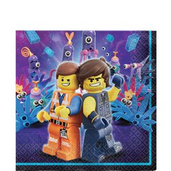 LEGO Movie 2 - Servietten 33cm