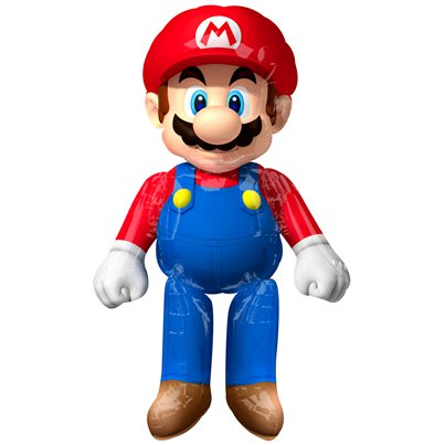 Super Mario Airwalker Folienballon 152cm