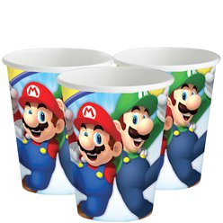 Super Mario - Pappbecher 266ml