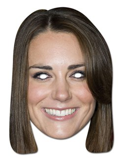 Kate Middleton-Maske