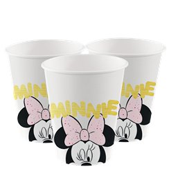 Disney Minnies Edelsteine - Pappbecher 200ml