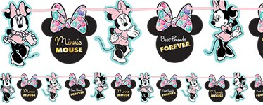 Disney Minnies Edelsteine - Girlande Set 2m