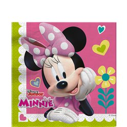 Minnie Maus Party - Papierservietten 33cm