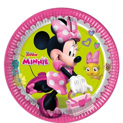Minnie Maus - Pappteller 23cm