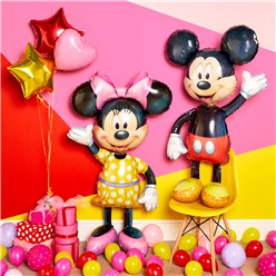 Minnie Maus Ballon-Bouquet Set