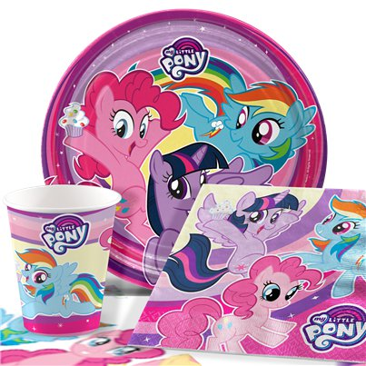 My Little Pony - Party-Set - Für 8 Personen