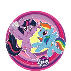 My Little Pony - Pappteller 18cm