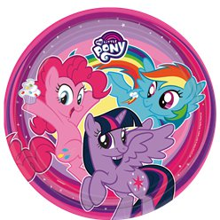 My Little Pony - Pappteller 23cm