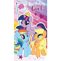 "My Little Pony - ""Birthday Girl"" Geburtstagskarte"