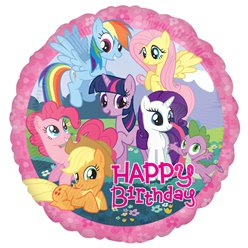 "My Little Pony - ""Happy Birthday"" Folienballon 46cm"
