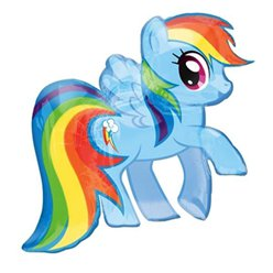 My Little Pony Rainbow Dash Folienballon - 71cm