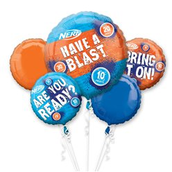 Nerf Party Ballon-Bouquet Set