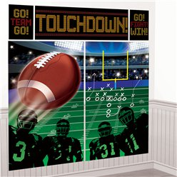 American Football - Wandkulisse Deko-Set 1,5m