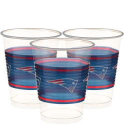 NFL American Football New England Patriots - Plastikbecher 455ml