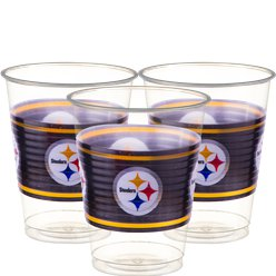 NFL American Football Pittsburgh Steelers - Plastikbecher 455ml