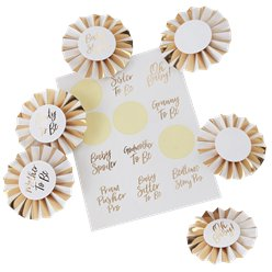 "Oh Baby - ""Baby Shower"" Anstecker Set"